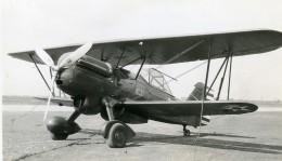 USA Avion Curtis XP 6F Aviation Ancienne Photo 1940 - Aviation