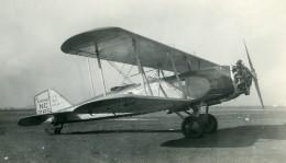 USA Avion Postal Boeing 40 Hornet US Airmail Aviation Ancienne Photo 1930's - Aviation