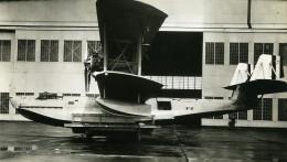 USA Hydravion NAF XP4N-1 Moteur Wright Cyclone Aviation Ancienne Photo 1930's - Aviation
