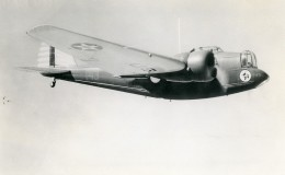 USA Avion Martin B-12A Moteur Hornet Aviation Ancienne Photo 1940 - Aviation