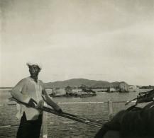 Vietnam Saigon Baie De Cam Ranh Old Photo 1935 - Places
