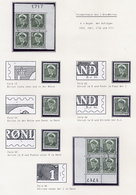 GREENLAND 1950 Definitive 1 Øre Small Study With Minor Varieties, Used.  Michel 26 - Greenland
