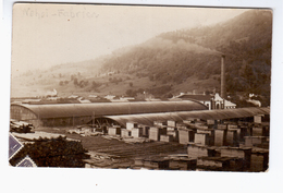 Wood Factory Holzfabrik  Ca 1915 OLD PHOTO  POSTCARD 2 Scans - Romania