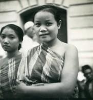 Vietnam Saigon Femmes Du Haut Laos Ho Chi Minh City Old Modern-Photo 1935 - Anonymous Persons