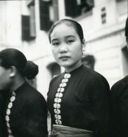 Vietnam Saigon Femme Tai Dam Thaï Noirs Old Modern-Photo 1935 - Anonymous Persons