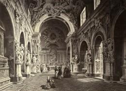 Italie Naples Napoli Interieur De La Chapelle Sansevero Ancienne Photo 1890 - Photographs
