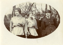 France Montreuil Sur Mer Wicquinghem WWI Isadora Duncan Old Photo 1917 - War, Military