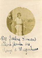 France Montreuil Sur Mer Wicquinghem WWI Isadora Duncan Old Photo 1917 - Guerre, Militaire