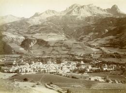 France Alpes-de-Haute-Provence Barcelonnette Chapeau De Gendarme Pain De Sucre Ancienne Photo 1901 - War, Military