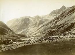 France Alpes Saint-Paul-sur-Ubaye Maurin Chasseurs Alpins Ancienne Photo 1901 - War, Military