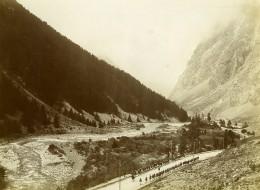 France Alpes Vallée De La Romanche Chasseurs Alpins 5e 6e Compagnie Ancienne Photo 1901 - Guerra, Militari