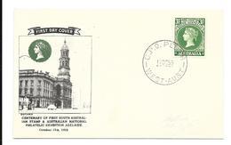 Australien FDC Card 1955 Mi.258 G.P.O. Perth West Australia - FDC