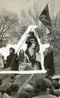 USA Washington DC Manifestation Contre L'Election President Nixon Ancienne Photo 1969 - Places