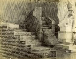 Italie Venise Fauteuil Ornement Basilique Cathédrale Saint-Marc Ancienne Photo 1890 - Photographs