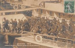 Oostende Ostende Guerre 1914 Soldats Après La Chute D'Anvers - Oostende