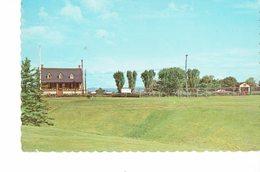CANADA 1970 -VINTAGE POSTCARD-QUE . -RIVIERER DU LOUP ET ST PATRICE - LE CLUB DE GOLF MAILED 26/2/1970 POST 7292 - Quebec