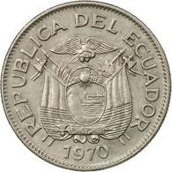 Monnaie, Équateur, Sucre, Un, 1970, TTB, Nickel Clad Steel, KM:78b - Equateur