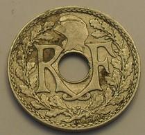 1938 - France - 10 CENTIMES, Lindauer, Maillechort, Point Avant Et Après La Date, Grand Module, KM 889.1, Gad 287 - D. 10 Centesimi