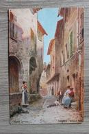 CAGNES SUR MER (06) - VIEILLE RUE - ILLUSTRATEUR PIERRE COMBA - Cagnes-sur-Mer