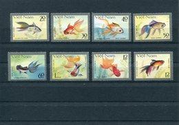 VIETNAM 1977 FISHES.MNH. - Vietnam