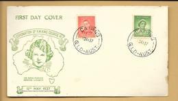 Australien FDC 1937 Cairns QQLD Australia - FDC