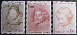 FD/2590 - 1977 - MONACO - SERIE COMPLETE - N°1098 à 1100 NEUFS** - Cote : 6,00 € ➤➤➤ DEPART A MOINS DE 15% DE LA COTE - Monaco