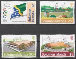 Solomon Islands 1984 Mi# 536-39** OLYMPIC GAMES LOS ANGELES 1984 - Salomon (Iles 1978-...)
