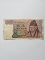 COREA DEL SUD 1000 WON - Corée Du Sud
