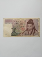 COREA DEL SUD 1000 WON - Corea Del Sud