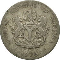 Monnaie, Nigéria, Elizabeth II, 10 Kobo, 1976, TB, Copper-nickel, KM:10.1 - Nigeria