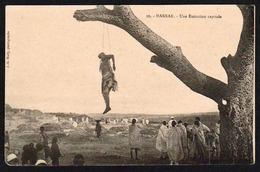 HARAR (Ethiopie) Gros Plan Sur Une Exécution Capitale (pendaison) - Etiopía