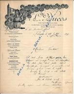 ZINGUERIE-CHAUDRONNERIE .-L.DUCOS .-LANGON 1897 - Other
