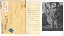 DONALD RODERICK MACLAREN (1893 - 1988) PHOTO (reprint) CANADA AS AVIATION AUTOGRAPHE ORIGINAL AUTOGRAPH /FREE SHIP. R - Autographes