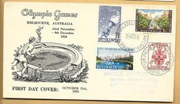 Australien FDC 1956 Mi.166-269 Philateletic Bureau Bourne Australia - FDC