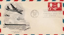 USA - AIR MAIL STATIONERY COVER UC 17 - Entiers Postaux