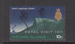1971 Pitcairn Royal Visit Complete Set Of 1 MNH Never Hinged (Guaranteed) - Francobolli