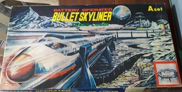 Trans Lunar Bullet Skyliner A Set Battery Operated _ Anni 60 - Giocattoli Antichi