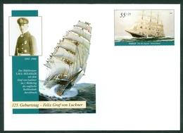 Germany 2005 Seiling Ship Passat  SMS Seeadler Graf Von Luckner WWI Stationery Cover Letter - BRD