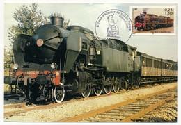 FRANCE - Carte Maximum - 0,23 E Locomotive Pacific Chapelon - Obl 170 Ans D'histoire Du Rail... 67 Saverne 6.8.2005 - 2000-09