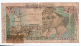E9 Billet De Banque Antilles - Guyane 5 Nouveaux Francs / 500 Francs - Autres