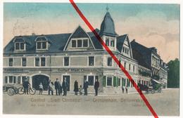 Großenhain  - Gasthof Stadt Chemnitz - Berlinerstraße - Bes. Louis Scholze - 1915 - Grossenhain