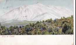 AP12 Pico De Teide - 1908 Postcard - Tenerife