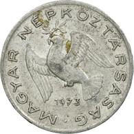 Monnaie, Hongrie, 10 Filler, 1973, Budapest, TTB, Aluminium, KM:572 - Hongrie