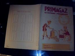 """Protege Cahier Primagaz Lilor """" Le  Butane Francais""""    TBE  Estampillé  Vaillant - Buvards, Protège-cahiers Illustrés"""