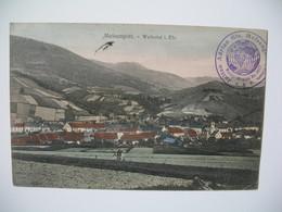 Carte  Meisengott Weilertal  Cachet Julien Adrein Fils Voyage Pour Saigon Cochinchine  1907 - Altri Comuni