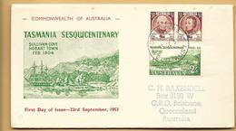 Australien FDC 1953 Mi.238-240 Australia - FDC