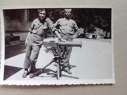 AUTRICHE   22 JUILLET   1945 TIR  A  LA  MITRAILLEUSE  AMERICAINE REFROIDISSEMENT  A EAU   CAL  7.6 - Matériel