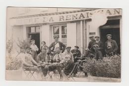 Café.Bière De La Renaissance.Carte Photo Non Située. - Cafés
