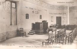 NICE - Salle Pertinax - Première Salle De L'église Réformée - Temple Protestant - Lieu De Culte - Rareté - Monumentos, Edificios