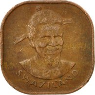 Monnaie, Swaziland, Sobhuza II, 2 Cents, 1979, British Royal Mint, TB+, Bronze - Swaziland
